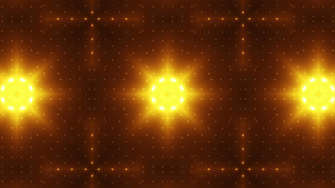 LED Kaleidoscope Wall 2 Bs 1 LRA HD Stock Video Footage