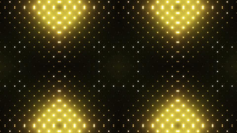 LED Kaleidoscope Wall 2 Bs 1 Na R HD Stock Video Footage