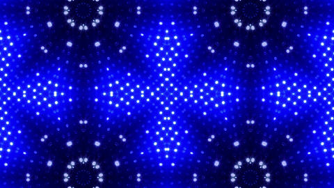 LED Kaleidoscope Wall 2 Cb 1 BTB HD Stock Video Footage