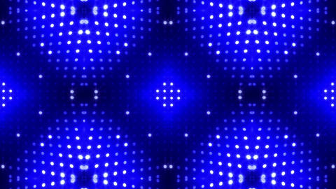 LED Kaleidoscope Wall 2 Cb 2 LRB HD Stock Video Footage