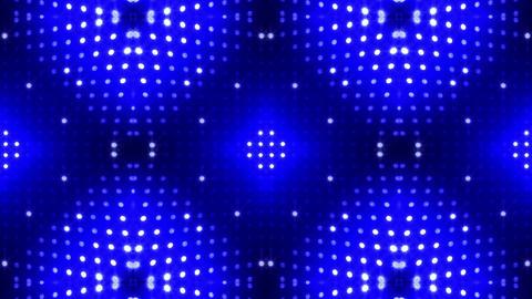 LED Kaleidoscope Wall 2 Cb 2 LRB HD Stock Video Footage