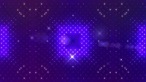 LED Kaleidoscope Wall 2 Cs 1 LRB HD Stock Video Footage