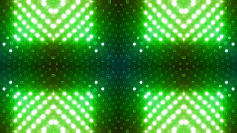 LED Kaleidoscope Wall 2 Gb 1 BTR HD Stock Video Footage