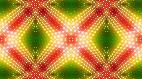 LED Kaleidoscope Wall 2 Gs 1 BTR 2 HD Stock Video Footage