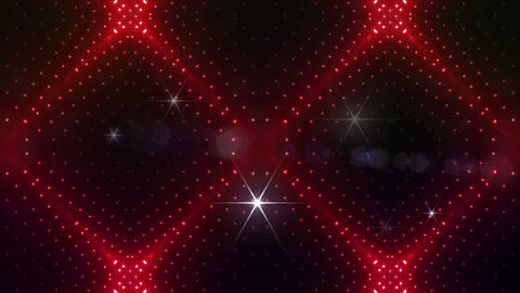 LED Kaleidoscope Wall 2 Gs 1 N 1 A HD Stock Video Footage