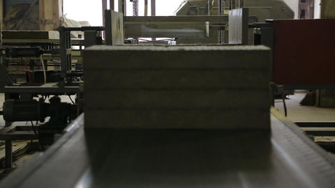 production of heat insulation Stock Video Footage