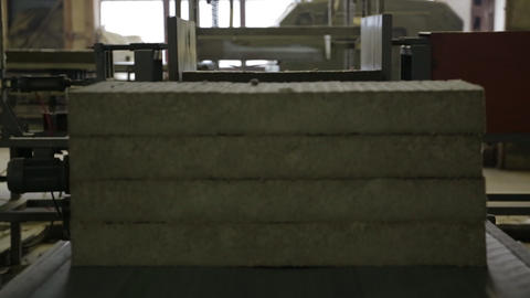 production of heat insulation Footage