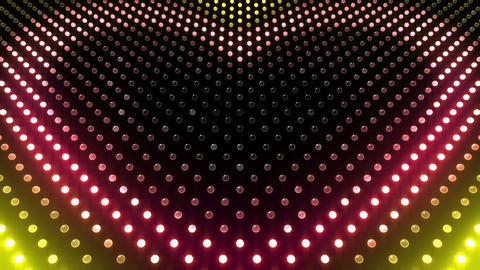 LED Wall 2 Heart G Cc HD Animation