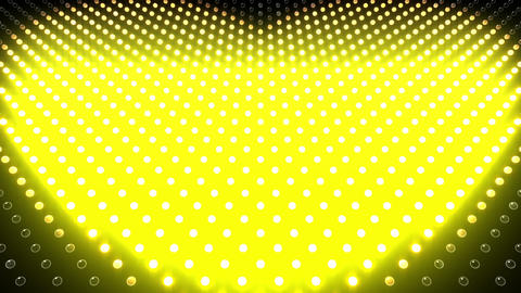 LED Wall 2 Heart G Cc HD Stock Video Footage