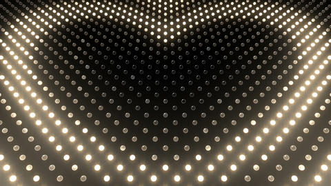 LED Wall 2 Heart G Cw HD Stock Video Footage