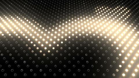 LED Wall 2 Heart G Ew HD Stock Video Footage