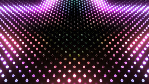 LED Wall 2 Star G Ar HD Stock Video Footage
