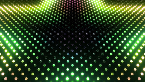 LED Wall 2 Star G Ar HD Animation