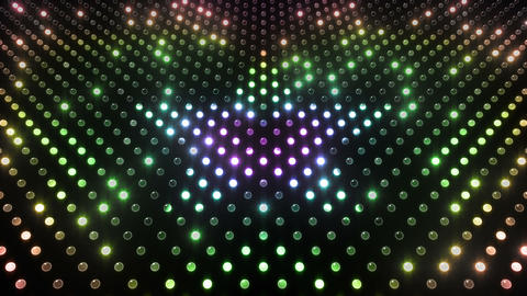 LED Wall 2 Star G Dr HD Stock Video Footage