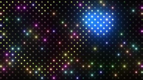 LED Wall 2 Heart B Ec 2 HD Stock Video Footage