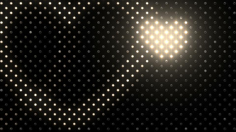 LED Wall 2 Heart B Ew HD Stock Video Footage