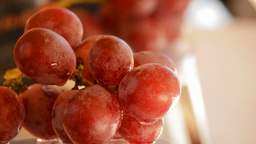 Grapes Rotating Loop stock footage
