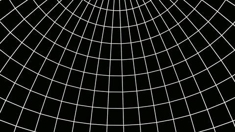 inside sphere mesh Animation