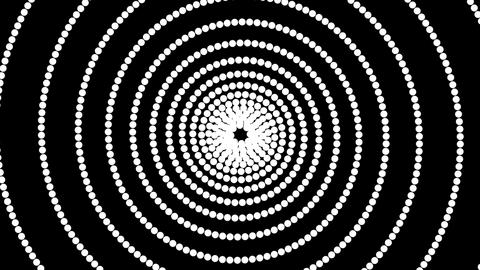 dot hypnotize Stock Video Footage