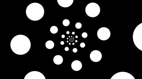 circle spiral Stock Video Footage