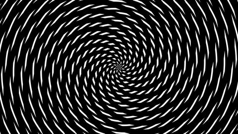 pieces hypnotize Stock Video Footage