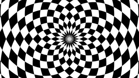 radial checkboard Animation