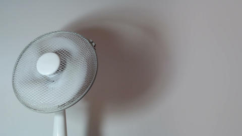 Office equipment - Electric Fan (loop) Footage