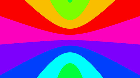 20 HD Rainbow Stripes #01