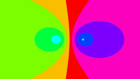 eye rainbow Stock Video Footage
