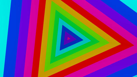 triangle colours Stock Video Footage