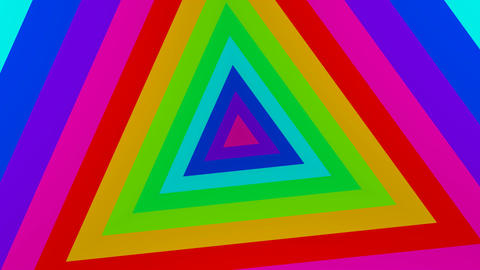 triangle colours Animation