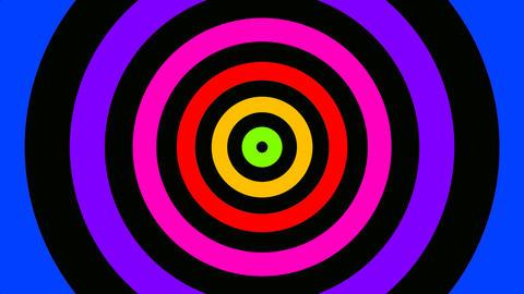 radial rainbow Stock Video Footage
