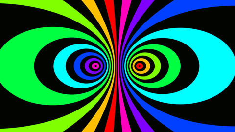 twin rainbow Stock Video Footage