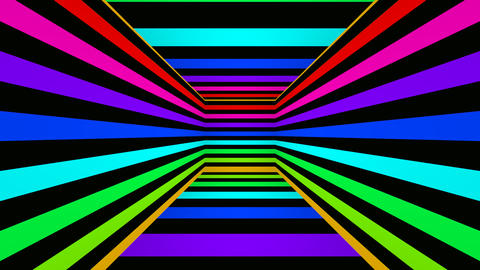 colorfull box stripes Stock Video Footage