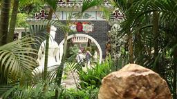 Lou Lim Lok garden in macau Suzhou style garden Footage