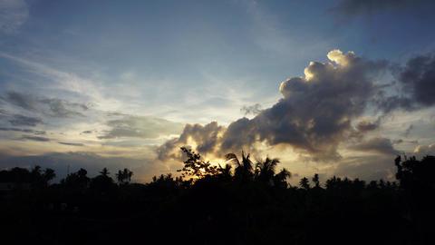 Bali Sky Timelapse Live Action