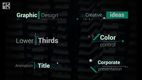 Titles Corporate V4 After Effects Template