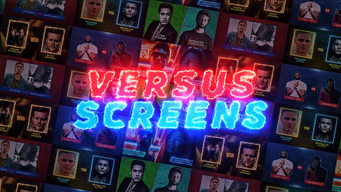 Versus Screens After Effects Template