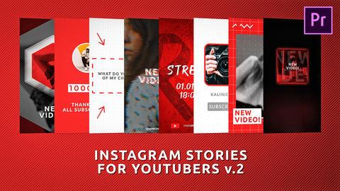 Instagram Stories for Youtubers v 2 Premiere Proテンプレート