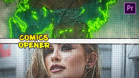 Comics Opener Premiere Proテンプレート
