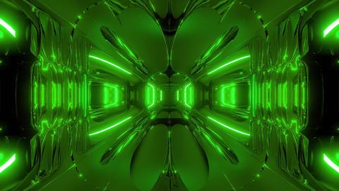 alien ship corridor tunnel wallpaper 3d rendering 3d... Stock Video Footage
