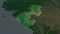Boke - region of Guinea. Physical Animation