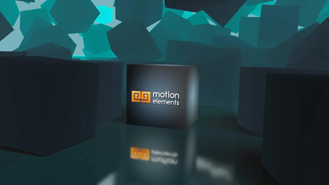 Cube Logo Reveal After Effects Template