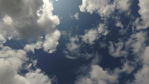 Clouds In The Blue Sky Timelapse 0