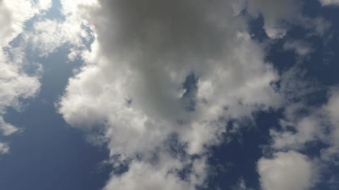Clouds In The Blue Sky Timelapse 1