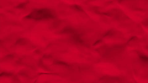 Wavy Fabric Red Animation