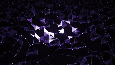Abstract geometric background Animation