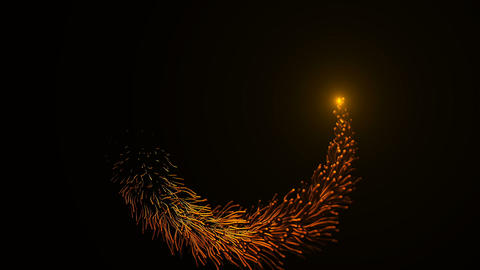 Loopable Particles ring Animation