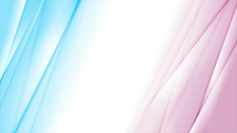 Blue and pink smooth gradient striped video animation Animation