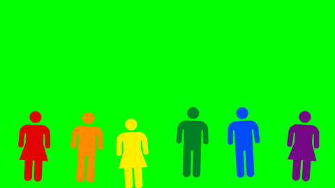 people minimal motion design animation Animation